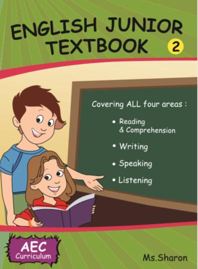 English Junior Textbook For Grade 2 – Singapore E-books
